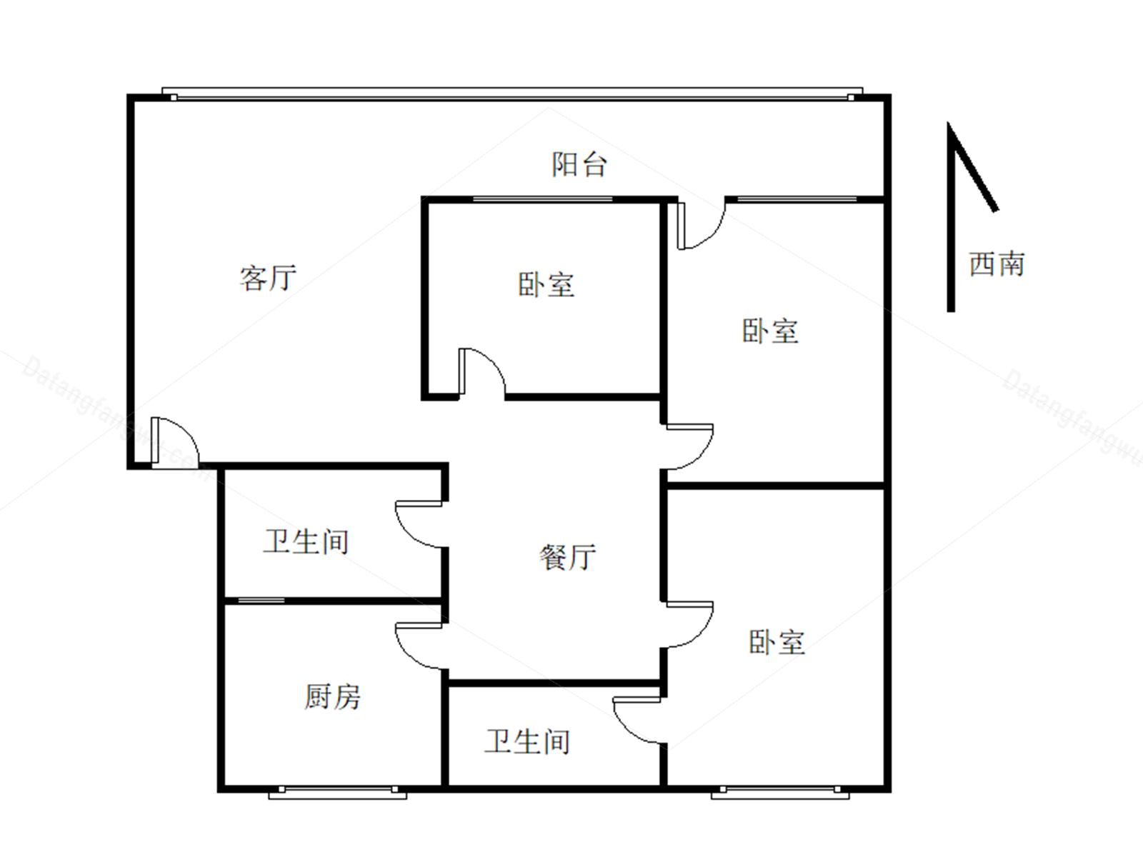 彭州,天彭,康居园,3室2厅,118㎡